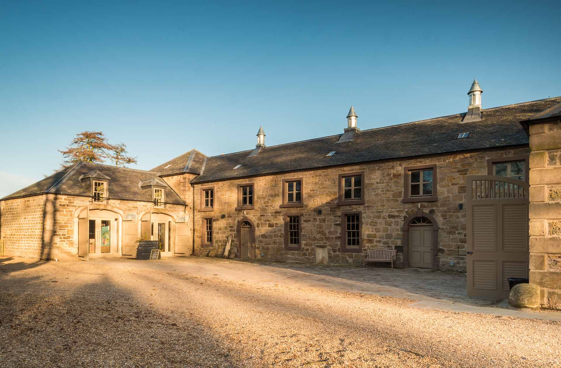 Park Architects-Cambo Stables-Image by Colin McLean Photography 2